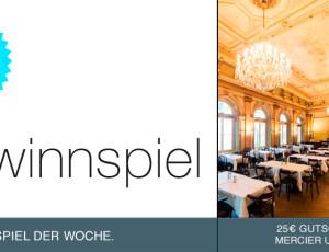 Gewinnspiel: Mercier & Camier