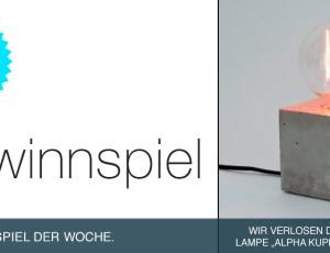 Gewinnspiel: LJ Lamps
