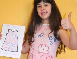Zeichne deine Kleidung